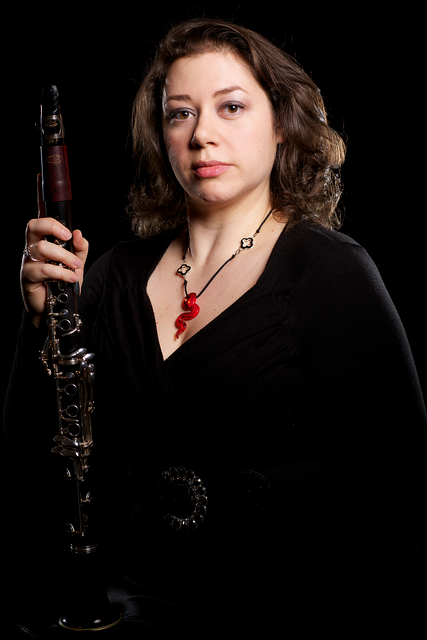 Laura Armstrong, clarinet